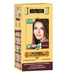 100% Rastlinná, 100% Organická farba na vlasy Blond