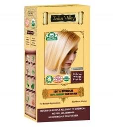 100% Rastlinná, 100% Organická farba na vlasy Zlatá blond