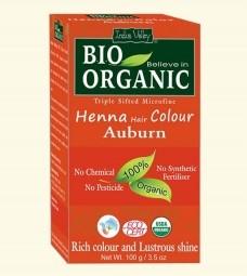 Akcia spotreba: 08/2021 Henna farba na vlasy Gaštanová