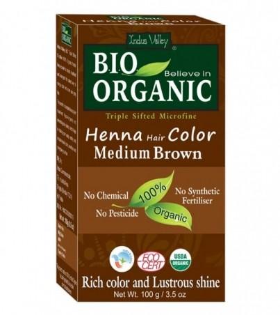 Henna farba na vlasy Hnedá