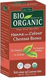 Akcia spotreba: 08/2021 Henna farba na vlasy Gaštanovohnedá
