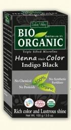Akcia spotreba: 08/2021 Henna farba na vlasy Indigovočierna