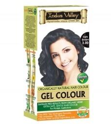 AKCIA - POŠKODENÝ OBAL: Gélová farba na vlasy Tmavohnedá 3.0