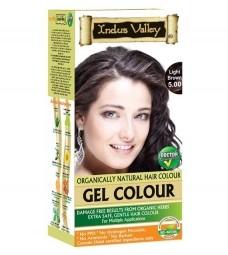 Gélová farba na vlasy Svetlohnedá 5.0