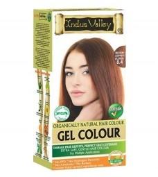 Akcia spotreba: 08/2021 Gélová farba na vlasy Stredná Medená Blond 8.4