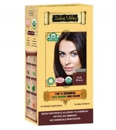 Akcia spotreba: 08/2021 100% Rastlinná, 100% Organická farba na vlasy Jemná Čierna