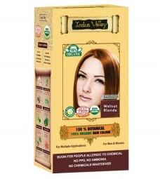 Akcia Spotreba 08/2021 100% Rastlinná, 100% Organická farba na vlasy Oriešková Blond-1