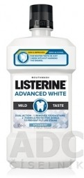 LISTERINE ADVANCED WHITE MILD TASTE