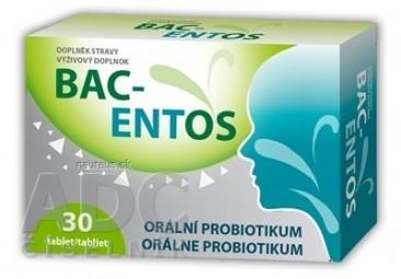 BAC-ENTOS tablety rozpustné v ústach 1x30 ks