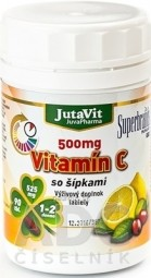 JutaVit Vitamín C 500 mg so šípkami tbl 1x90 ks