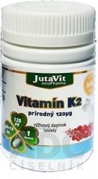 JutaVit Vitamín K2 prírodný 120 µg
