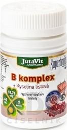 JutaVit B-komplex + kyselina listová