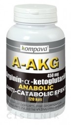 kompava A-AKG  (Arginín-alfa-ketoglutarát) 450 mg cps 1x120 ks