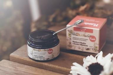 Medová Maska s Kozím Mliekom pre Suchú/Citlivú Pleť
