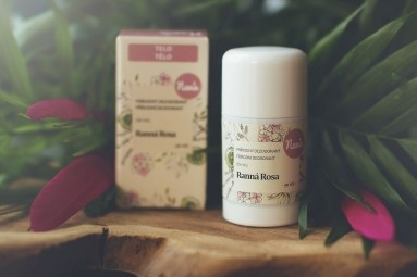 Tuhý Dezodorant Dámsky - Ranná Rosa