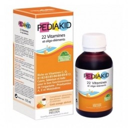 PEDIAKID 22 Vitaminov sirup 1x125 ml