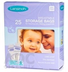 LANSINOH Sáčky na skladovanie materského mlieka 1x25 ks