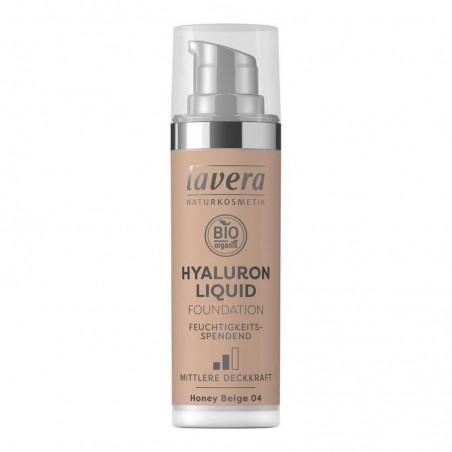 Ľahký tekutý make-up s kyselinou hyalurónovou - 04 Béžová 30 ml