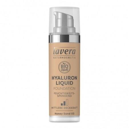 Ľahký tekutý make-up s kyselinou hyalurónovou - 03 Medová 30 ml
