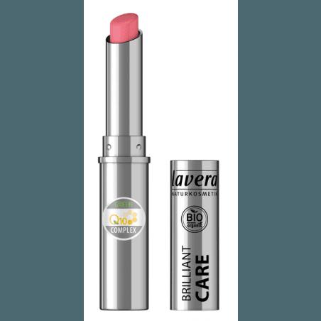 Rúž Brilliant Care Q10 - 02 Jahodovo ružová 1,7 g