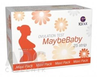 MaybeBaby strip Maxi Pack ovulačný test (pásik) 1x25 ks