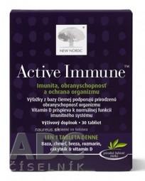 NEW NORDIC Active Immune tbl 1x30 ks