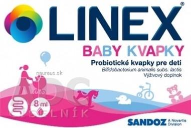 LINEX baby kvapky gtt 1x8 ml