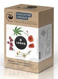 LEROS RADOSTNÉ ZASPÁVANIE Konope & Vlčí mak bylinný čaj 20x1 g (20 g)