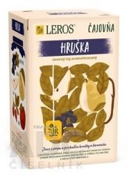 LEROS Čajovňa HRUŠKA ovocný čaj, s príchuťou karamelu, nálevové vrecúška 20x2,5 g (50 g)