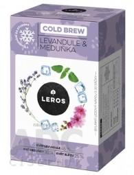 LEROS COLD BREW Levanduľa & Medovka bylinný čaj 20x1 g (20 g)