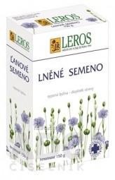LEROS ĽANOVE SEMENO sypaný čaj 1x150 g