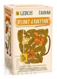 LEROS Čajovňa BYLINKY A RAKYTNÍK s pomarančom bylinný čaj, nálevové vrecúška 20x2 g (40 g)