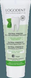 EXTRA FRESH daily care zubná pasta mäta bez fluoridu