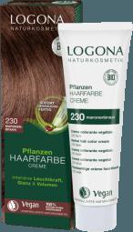 Krémová farba na vlasy gaštanovohnedá