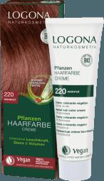 Krémová farba na vlasy vínovočervená - 150ml