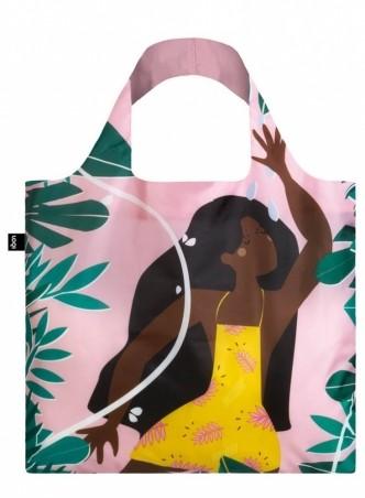 Nákupná taška LOQI Celeste Wallaert Joyful & Free