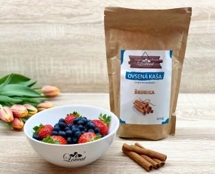 Fitness ovsená kaša LOVEAT schia semienkami – Škoricová 500 g