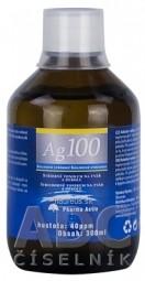 Pharma Activ Koloidné striebro Ag100 hustota 40ppm, 1x300 ml