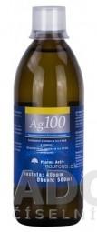 Pharma Activ Koloidné striebro Ag100 hustota 40ppm, 1x500 ml