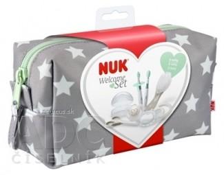 NUK Welcome set pre novorodencov, 8 kusov v taštičke, 1x1 set