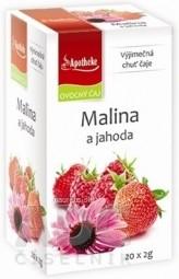 APOTHEKE PREMIER SELECTION ČAJ MALINA A JAHODA 20x2 g (40 g)