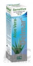Delmar Sensitive nosový sprej s Aloe Vera 1x50 ml
