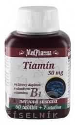 MedPharma TIAMÍN 50 mg (vitamín B1)
