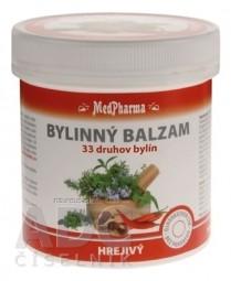 MedPharma BYLINNÝ BALZAM hrejivý extrak z 33 druhov bylín, 1x250 ml