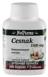 MedPharma CESNAK 1500 mg cps 100+7 zadarmo (107 ks)