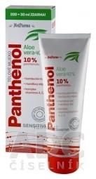 MedPharma PANTHENOL 10% TELOVÉ MLIEKO Sensitive, s Aloe vera, 200+30 ml zadarmo (230 ml)