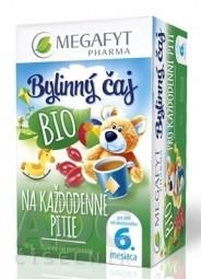 MEGAFYT Bylinný čaj BIO NA KAŽDODENNÉ PITIE pre deti (od ukonč. 6. mesiaca) 20x2 g (40 g)