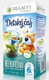 MEGAFYT Detský čaj BEZ KOFEÍNU čierny čaj (od ukonč. 6. mesiaca), 20x1,75 g (35 g)