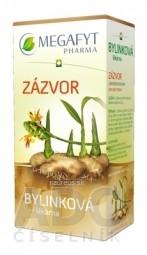 MEGAFYT Bylinková lekáreň ZÁZVOR bylinný čaj 20x1,5 g (30 g)