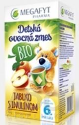 MEGAFYT Detská ovocná zmes BIO JABLKO S INULÍNOM inov.2015, 20x2 g (40 g)